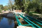 remont drewnianego mostu